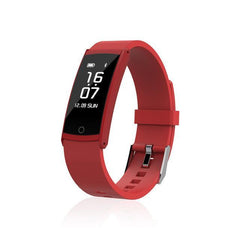 Phone Accessories Health Bracelet Sport Red Waterproof Sport Smart Bracelet-Heart Rate,Blood Pressure,Sleep Health Monitor,Anti Lost Reminder Smartband