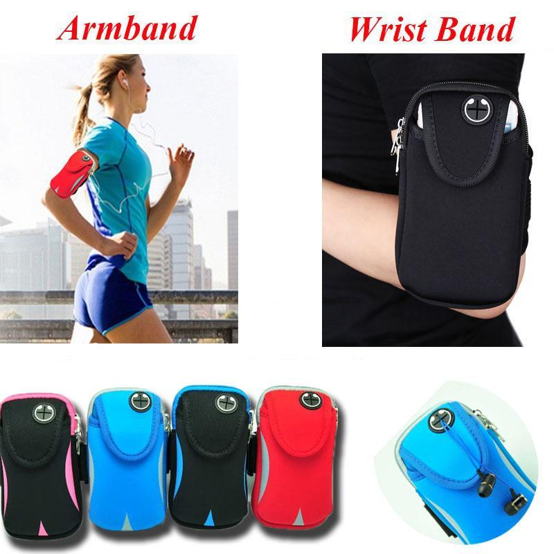 Phone Accessories Lux Armbands 5.7 inch Breathable Sport Running Armband For iPhone 7 6S Plus Multifunction Phone Bag Case For Samsung Galaxy Note 7 S6 S7