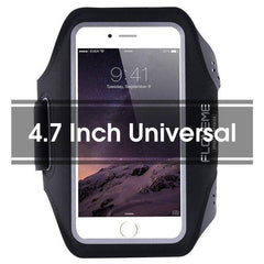 Phone Accessories Lux Armbands Black FLOVEME Running Sport Waterproof Armband For iPhone 7 6 6s Plus Case For Samsung 4.7 5.5 Inch Universal Nylon Phone Bag Shells