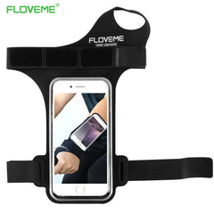 Phone Accessories Lux Armbands Black FLOVEME Waterproof Armband Phone Bag Universal For All 5.5 inch Mobile Phones For iPhone 7 8 Plus 6 6s Plus 5s SE Ride Arm Band