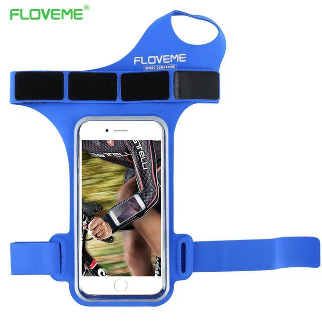 Phone Accessories Lux Armbands Blue FLOVEME Waterproof Armband Phone Bag Universal For All 5.5 inch Mobile Phones For iPhone 7 8 Plus 6 6s Plus 5s SE Ride Arm Band
