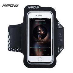 Phone Accessories Lux Armbands China / Black Mpow Sweatproof Exercise Running Sport Armband for iPhone 5S 6s/6 Samsung Galaxy S7 S6, Xiaomi Huawei P9 Black Sport Phone Cases