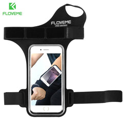 Phone Accessories Lux Armbands FLOVEME Waterproof Armband Phone Bag Universal For All 5.5 inch Mobile Phones For iPhone 7 8 Plus 6 6s Plus 5s SE Ride Arm Band