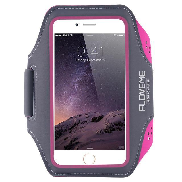 Phone Accessories Lux Armbands For iPhone 5.5inch 2 4.7 5.5 Sport Phone Bag For iPhone X 8 7 Plus 6 6S GYM Running Cycling Moll Pouch Case For iPhone8 i 5 5S SE Universal Armband