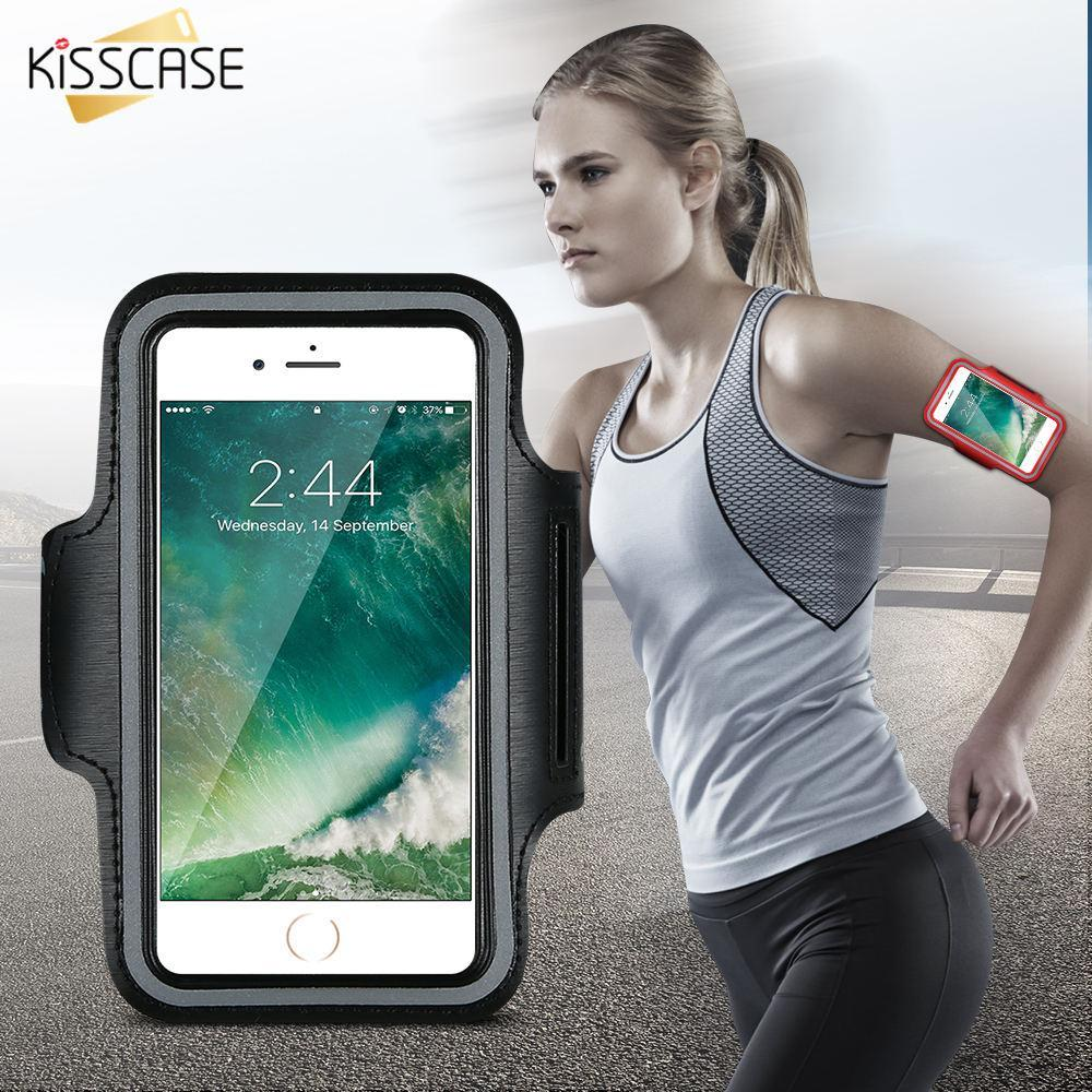 Phone Accessories Lux Armbands KISSCASE Waterproof Sport Armband Case for iphone 6 6s i6 Gymnasium Activities Accessories Running Phone Pouch Cover Arm Band