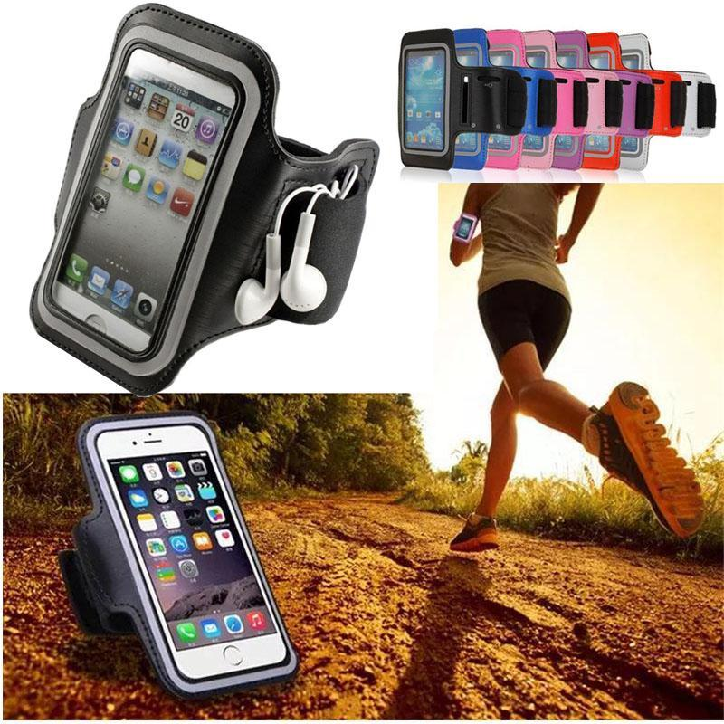 Phone Accessories Lux Armbands Maze Blade Arm Band 5.5 inch Phone Case For Apple iPhone X 8 7 6 Plus Ultra Light Sport Armband Belt Cover Running GYM Yoga Bag