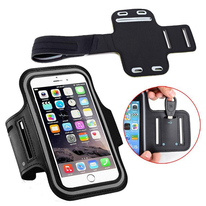 Phone Accessories Lux Armbands Nylon Sport Armband Rainproof Case Universal For iPhone 7 Plus Samsung Galaxy S7 Edge Xiaomi Redmi Note 3 Pro 5.2 ~ 5.7 inch