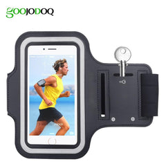 Phone Accessories Lux Armbands Waterproof Gym Sports Running Armband for iPhone 8 7 4 5 5S 5C SE 6 6s 8 Plus Phone Case Cover Holder Armband Case for iPhone 8
