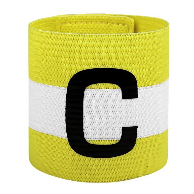 Phone Accessories Lux Armbands Yellow JANUS Professional Soccer Captain Armband Football Game Brand Top Quality C  Captain Armband S345