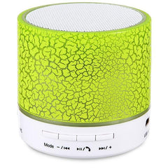 Phone Accessories Lux BLUETOOTH & WIRELESS SPEAKERS green MXPOKWV A9 MP3 Player Mini Portable USB Loudspear Wireless Bluetooth Speaker Support TF Card For Phone Laptop PC