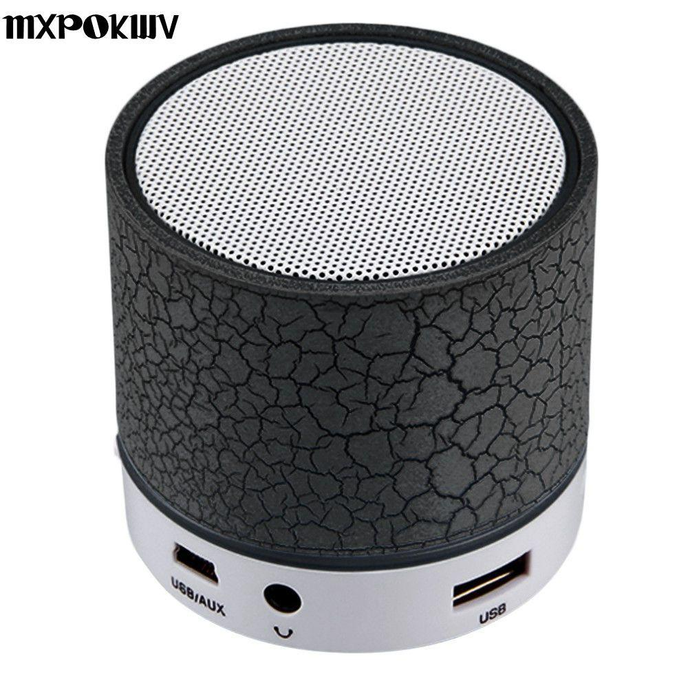 Phone Accessories Lux BLUETOOTH & WIRELESS SPEAKERS MXPOKWV A9 MP3 Player Mini Portable USB Loudspear Wireless Bluetooth Speaker Support TF Card For Phone Laptop PC