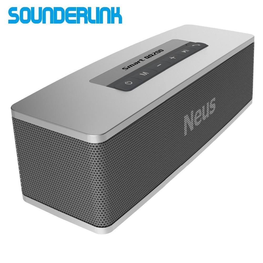 Phone Accessories Lux BLUETOOTH & WIRELESS SPEAKERS Neusound Neus 20W HiFi High power mini portable outdoor wireless Bluetooth speaker with deep bass effect