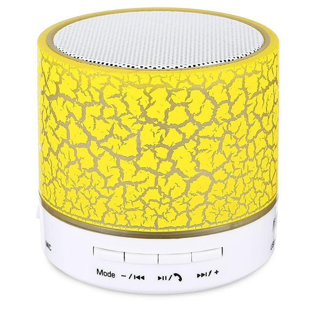 Phone Accessories Lux BLUETOOTH & WIRELESS SPEAKERS yellow MXPOKWV A9 MP3 Player Mini Portable USB Loudspear Wireless Bluetooth Speaker Support TF Card For Phone Laptop PC