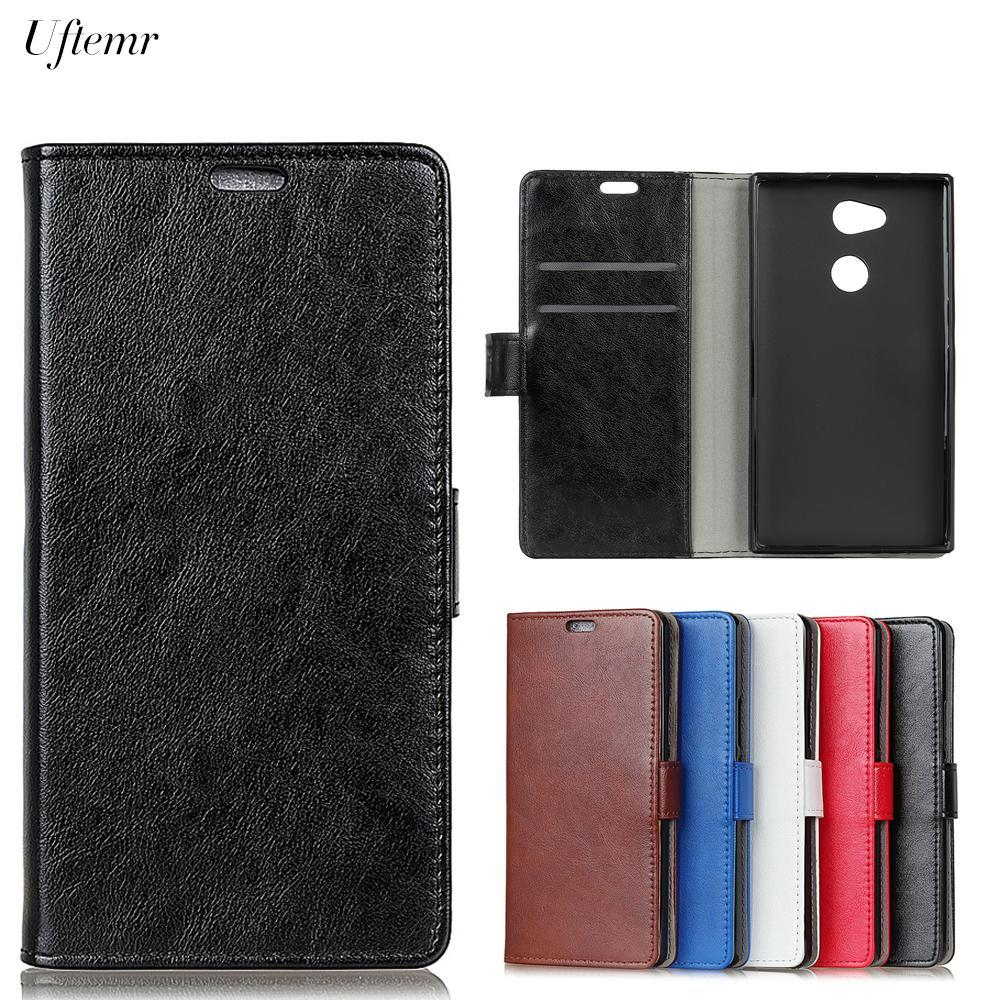 Phone Accessories Lux Case For Sony Xperia L2 Luxury Business Leather Case For Sony Xperia L2
