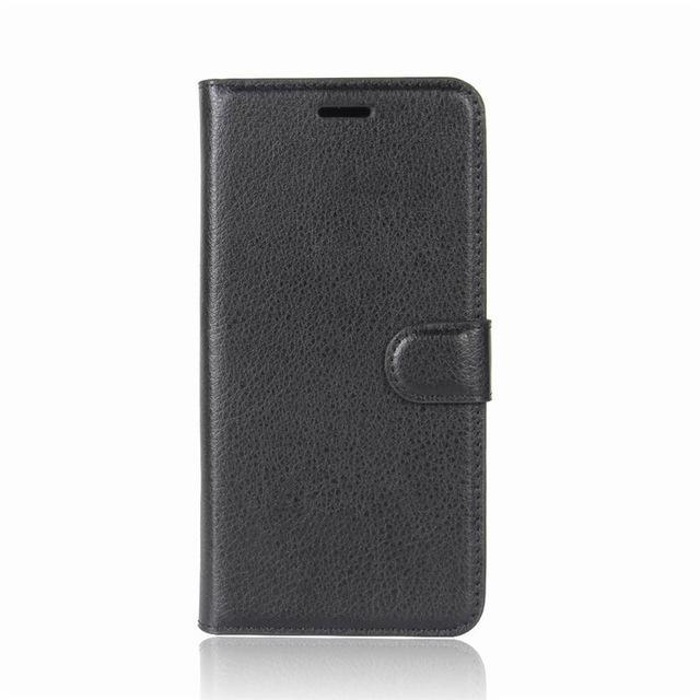 Phone Accessories Lux case Galaxy j3 Black / Leather Leather Wallet Phone Case For Samsung Galaxy J3
