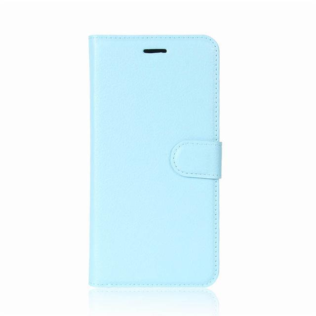 Phone Accessories Lux case Galaxy j3 Blue / Leather Leather Wallet Phone Case For Samsung Galaxy J3