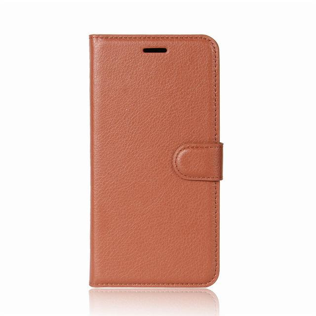 Phone Accessories Lux case Galaxy j3 Brown / Leather Leather Wallet Phone Case For Samsung Galaxy J3