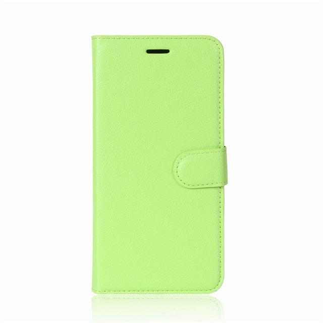 Phone Accessories Lux case Galaxy j3 Green / Leather Leather Wallet Phone Case For Samsung Galaxy J3