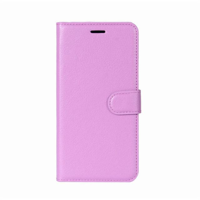 Phone Accessories Lux case Galaxy j3 Purple / Leather Leather Wallet Phone Case For Samsung Galaxy J3