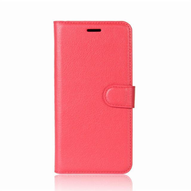 Phone Accessories Lux case Galaxy j3 Red / Leather Leather Wallet Phone Case For Samsung Galaxy J3
