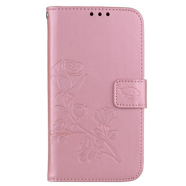 Phone Accessories Lux case Galaxy j3 Style 20 Flip Cover Case Luxury Leather For Samsung Galaxy J3