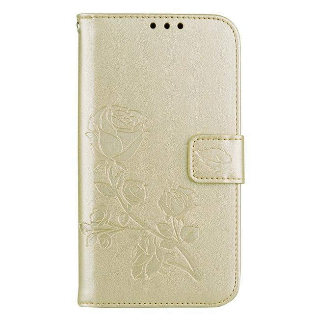 Phone Accessories Lux case Galaxy j3 Style 21 Flip Cover Case Luxury Leather For Samsung Galaxy J3