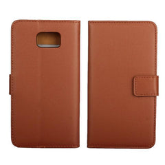 Phone Accessories Lux CASE Galaxy note 5 Brown / Only Case Leather Wallet Flip Case for Samsung Galaxy Note 5,Cash Holder