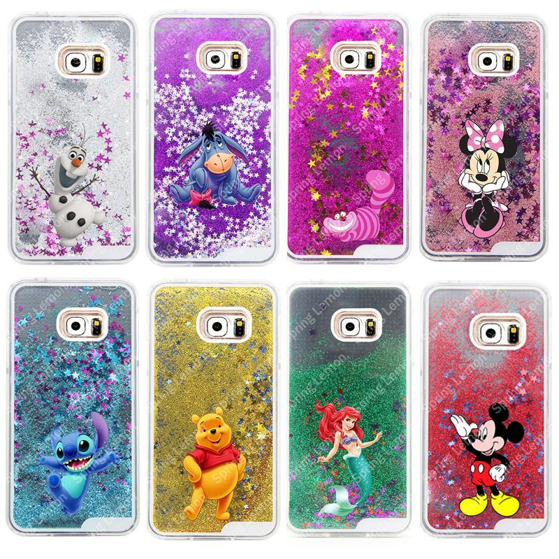 Phone Accessories Lux CASE Galaxy note 5 For Samsung Galaxy NOTE 5 Case Glitter Star Liquid