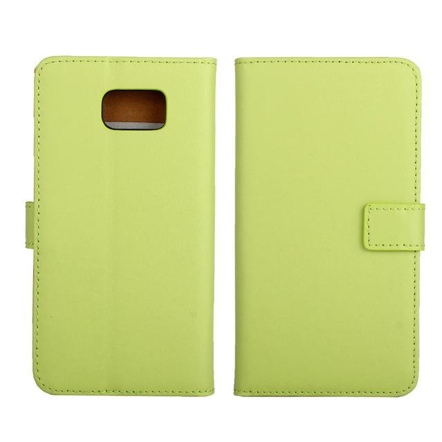 Phone Accessories Lux CASE Galaxy note 5 Green / Only Case Leather Wallet Flip Case for Samsung Galaxy Note 5,Cash Holder