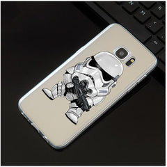 Phone Accessories Lux CASE Galaxy note 5 L1430 / For Galaxy S7 Star Wars Silicone Case Cover For Samsung Galaxy Note 3 4 5 8 S5 S6 S7 Edge S8 Plus