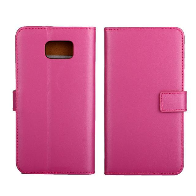 Phone Accessories Lux CASE Galaxy note 5 Lavender / Only Case Leather Wallet Flip Case for Samsung Galaxy Note 5,Cash Holder