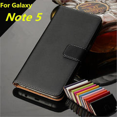 Phone Accessories Lux CASE Galaxy note 5 Leather Wallet Flip Case for Samsung Galaxy Note 5,Cash Holder