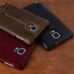 Phone Accessories Lux CASE Galaxy note 5 Pierre Cardin Genuine Leather For Samsung Galaxy Note 4/Note 5/Note 7 Vintage Slim
