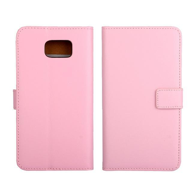 Phone Accessories Lux CASE Galaxy note 5 Pink / Only Case Leather Wallet Flip Case for Samsung Galaxy Note 5,Cash Holder