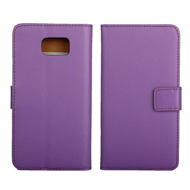 Phone Accessories Lux CASE Galaxy note 5 Purple / Only Case Leather Wallet Flip Case for Samsung Galaxy Note 5,Cash Holder