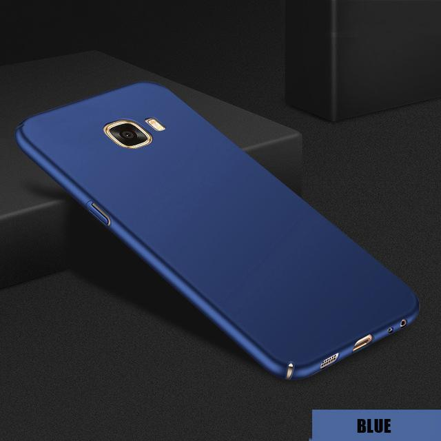 Phone Accessories Lux CASE Galaxy s6 edge plus Blue / China / J5 2016 Full Cover Matte Case For SamsungGalaxy A Series,Galaxy J Series,Galaxy Note 8,Galaxy S6 edge