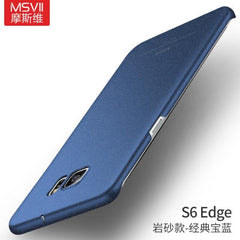 Phone Accessories Lux CASE Galaxy s6 edge plus Quicksand blue / For S6 Edge Luxury Slim Hard Matte Case For Samsung  Galaxy S6 edge plus,Galaxy S6 edge,Galaxy S6