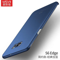 Phone Accessories Lux CASE Galaxy s6 edge plus Simple blue / For S6 Edge Luxury Slim Hard Matte Case For Samsung  Galaxy S6 edge plus,Galaxy S6 edge,Galaxy S6