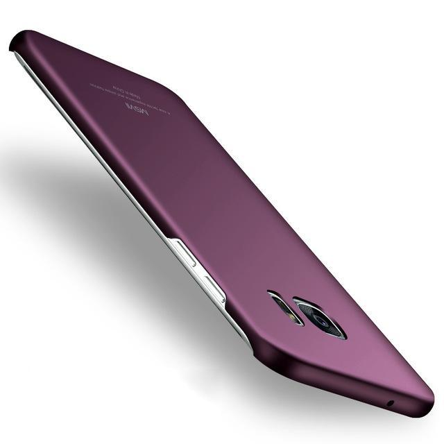 Phone Accessories Lux CASE Galaxy s6 edge plus Simple purple red / For S6 Edge Luxury Slim Hard Matte Case For Samsung  Galaxy S6 edge plus,Galaxy S6 edge,Galaxy S6