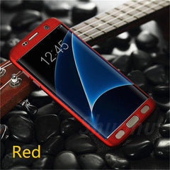Phone Accessories Lux case Galaxy s7 Red / For Samsung S7 Case Luxury Silicone for Samsung  Galaxy S8,Galaxy A Series,Galaxy J Series,Galaxy S8 Plus,Galaxy S7 Edge,Galaxy S7