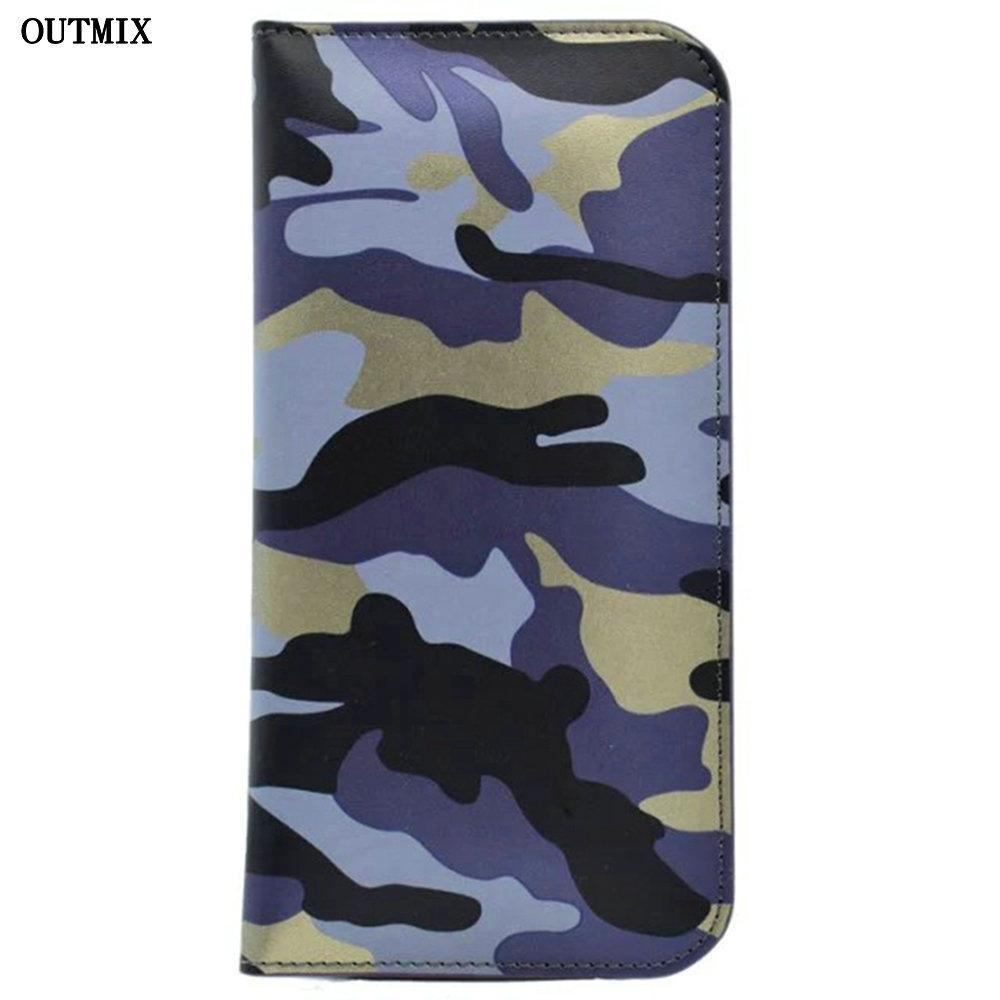 Phone Accessories Lux case Sony xperia r1 plus Camouflage Wallet Case for Sony Xperia R1 Plus