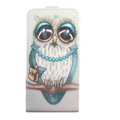 Phone Accessories Lux case Sony xperia r1 plus Green / PU Cartoon Pattern Up and Down Flip PU Leather Case For Sony Xperia R1