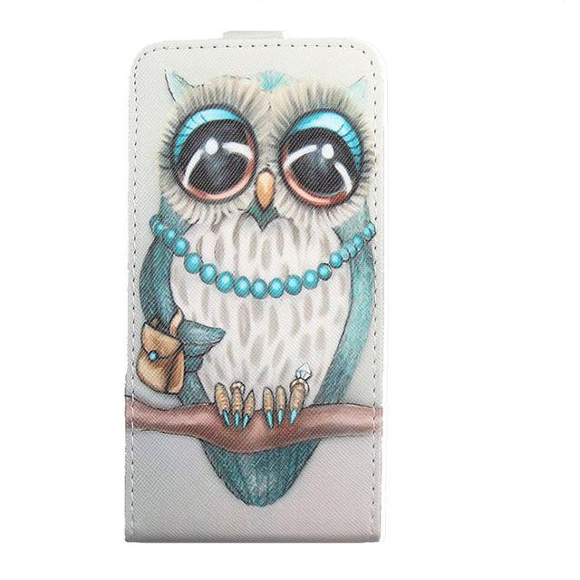 Phone Accessories Lux case Sony xperia r1 plus Green / PU Fashion 11 Colors Cartoon Pattern Up and Down Flip Leather Case For Sony Xperia R1 Plus