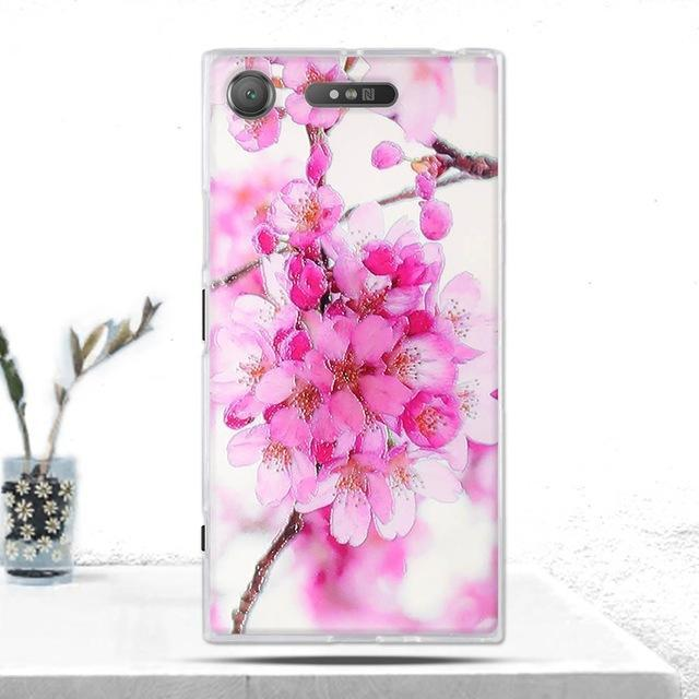 Phone Accessories Lux case SONY XPERIA XZ1 1 Cover Soft  Silicone Back Cover for Sony Xperia XZ1