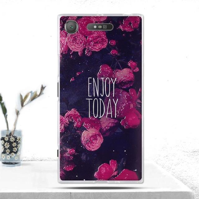 Phone Accessories Lux case SONY XPERIA XZ1 11 Cover Soft  Silicone Back Cover for Sony Xperia XZ1