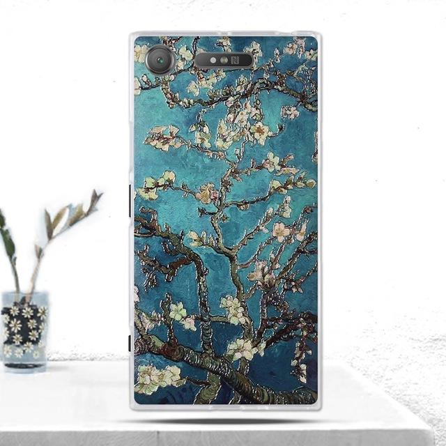 Phone Accessories Lux case SONY XPERIA XZ1 12 Cover Soft  Silicone Back Cover for Sony Xperia XZ1