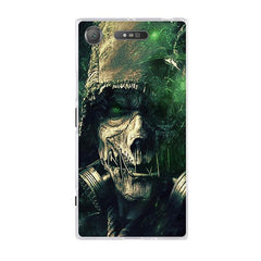 Phone Accessories Lux case SONY XPERIA XZ1 13 / TPU 3D Relief Painted Pattern Cover For Sony Xperia XZ1 Back Phone Cases