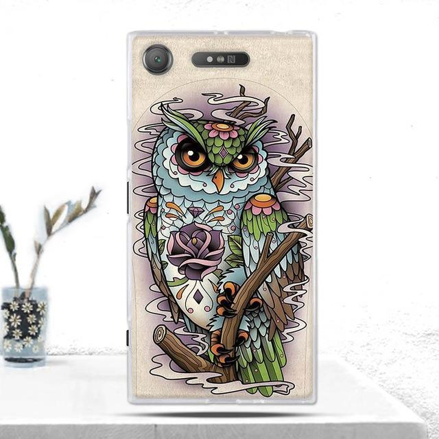 Phone Accessories Lux case SONY XPERIA XZ1 17 Cover Soft  Silicone Back Cover for Sony Xperia XZ1