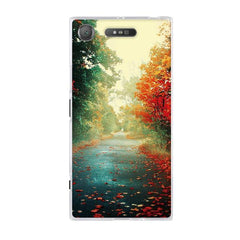 Phone Accessories Lux case SONY XPERIA XZ1 24 / TPU 3D Relief Painted Pattern Cover For Sony Xperia XZ1 Back Phone Cases