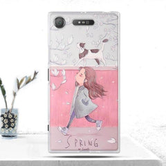 Phone Accessories Lux case SONY XPERIA XZ1 5 Cover Soft  Silicone Back Cover for Sony Xperia XZ1